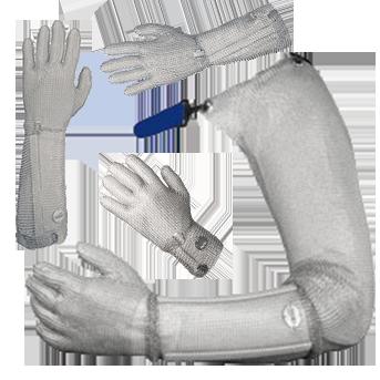 Кольчужные перчатки для разделки мяса