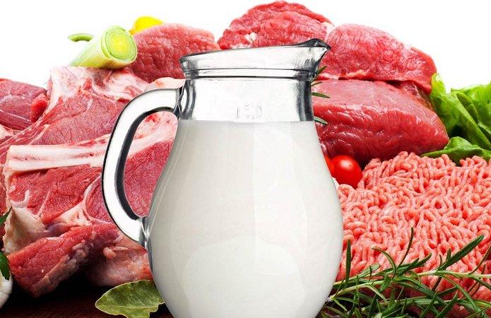 Украина сократила производство молока, колбас и масла