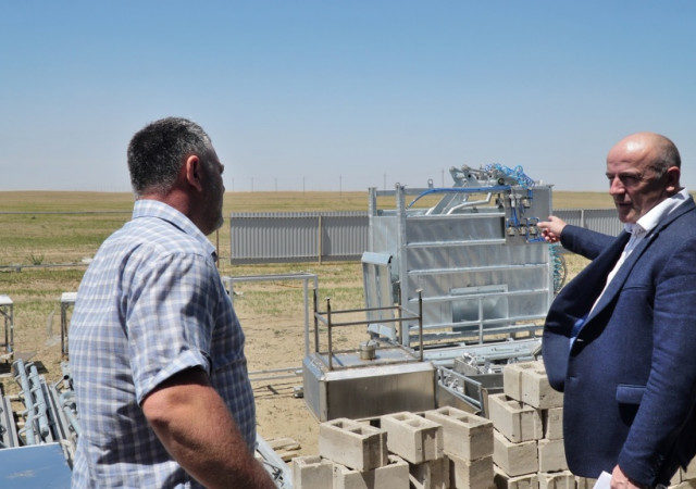 На севере Дагестана успешно реализуется инвестиционный проект по строительству убойного пункта
